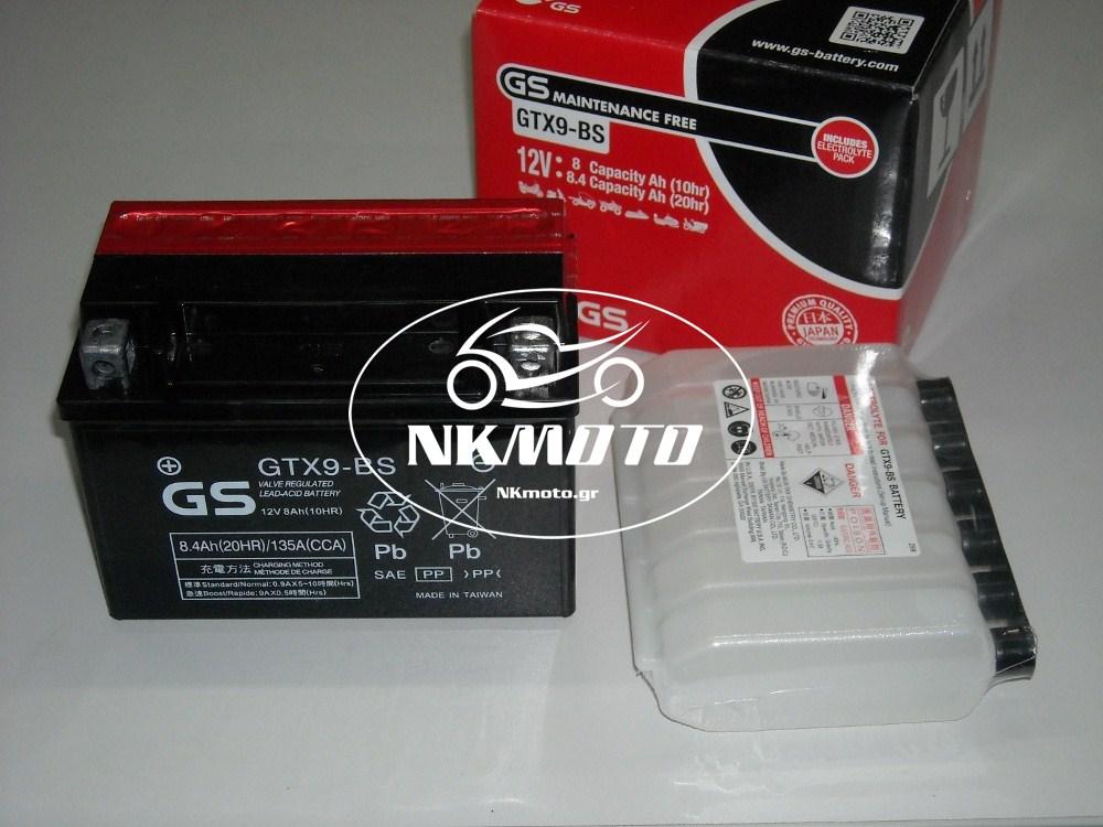 ΜΠΑΤΑΡΙΑ GTX9-BS (YTX9-BS) GS
