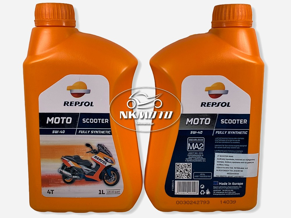 ΛΑΔΙ 5W-40 SCOOTER REPSOL