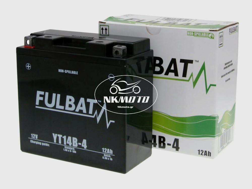 ΜΠΑΤΑΡΙΑ YT14B-4 (YT14B-BS) FULBAT