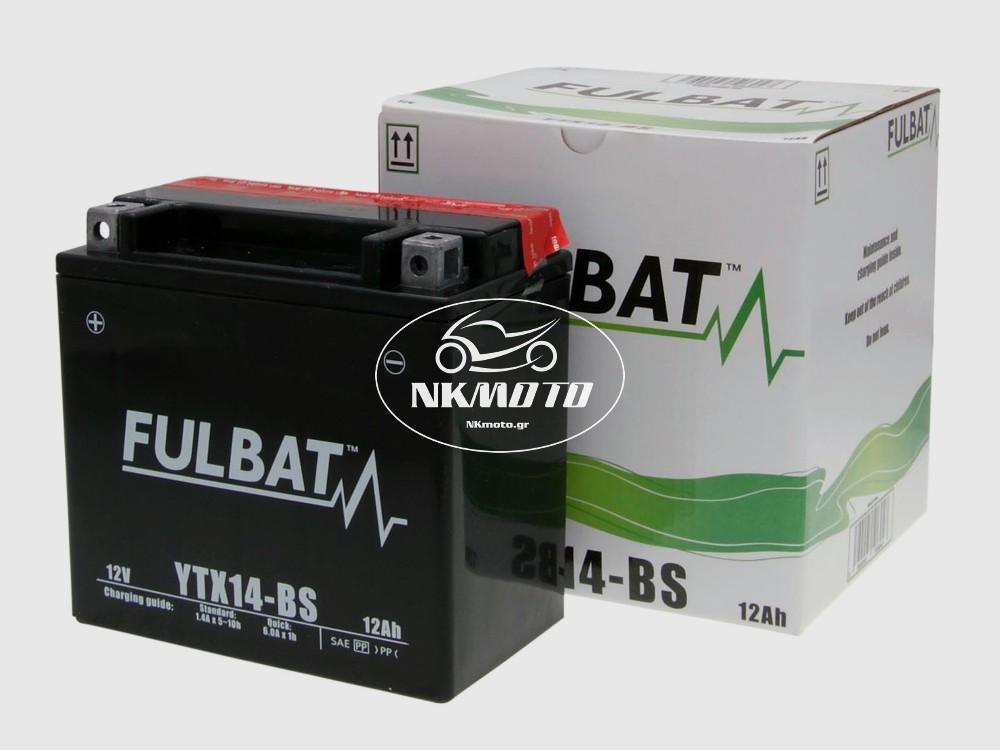 ΜΠΑΤΑΡΙΑ YTX14-BS FULBAT
